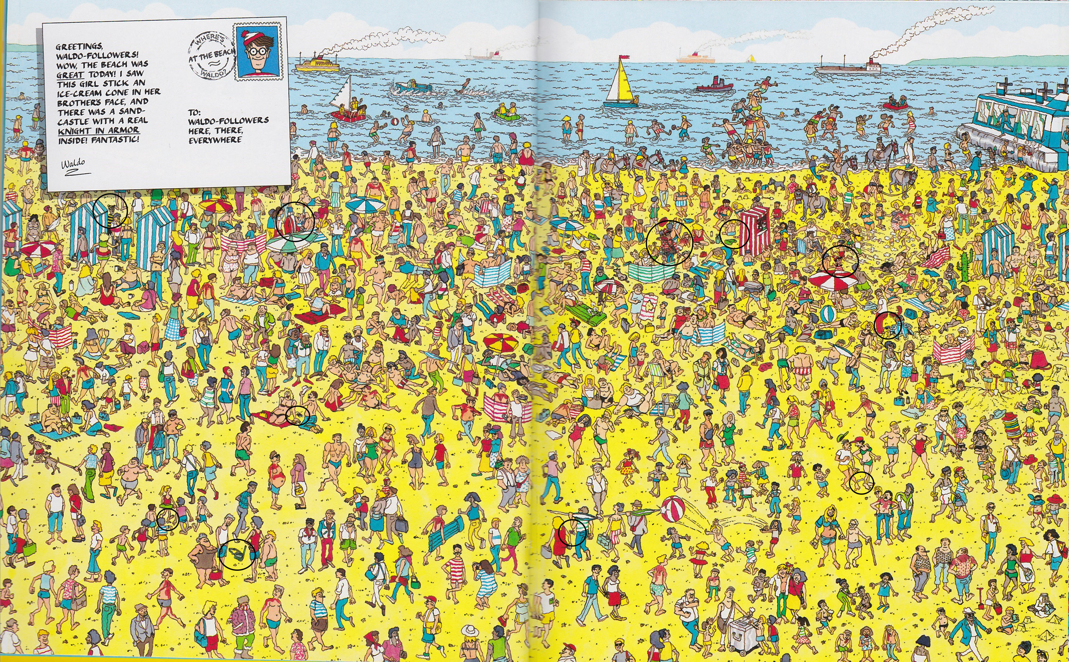 photo regarding Where's Waldo Printable titled Wheres Waldo Wednesday!: Upon the Beach front Pee Fox Patterns